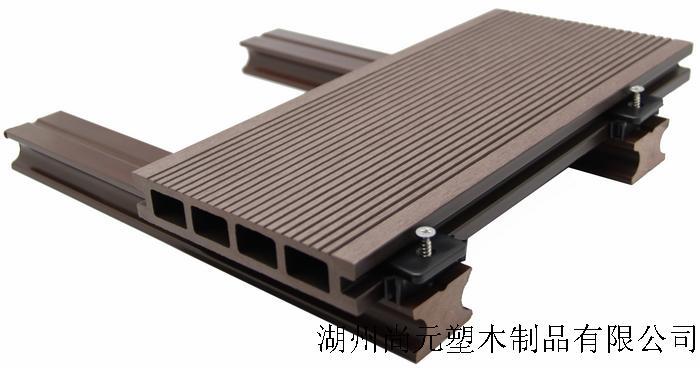 本公司塑木地板,作为地板不可用于其它用途